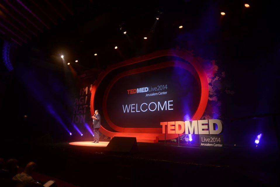 תמונה של צלם כנסים בכנס טד