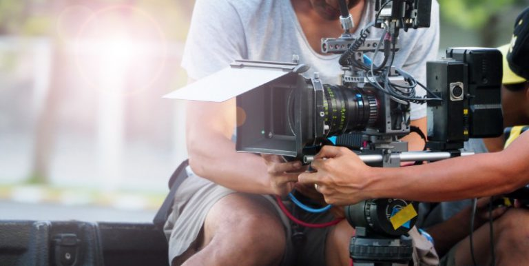 במהלך צילום סרטי תדמית לחברה