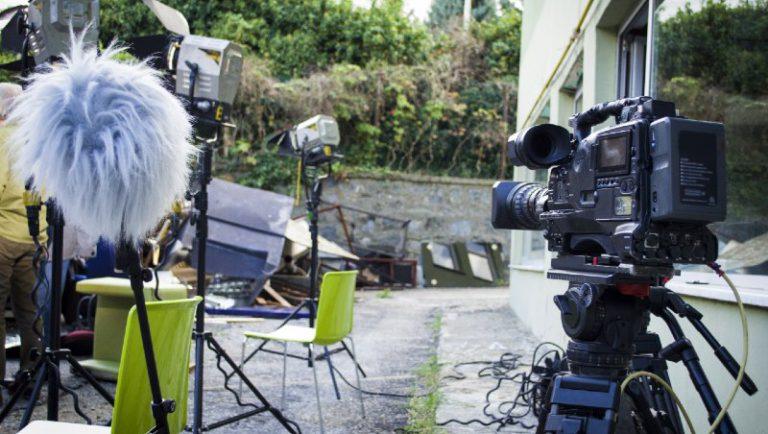 צילום סרט תדמית מחוץ לעסק